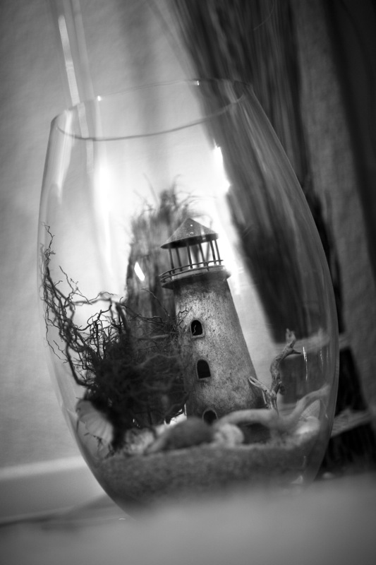 Lighthouse in a glass
